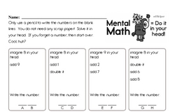 Free 2.OA.B.2 Common Core PDF Math Worksheets Worksheet #5