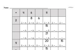 Free 2.OA.B.2 Common Core PDF Math Worksheets Worksheet #6