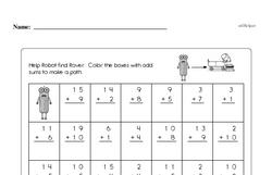 Free 2.OA.B.2 Common Core PDF Math Worksheets Worksheet #85