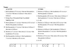 Free Second Grade Addition PDF Worksheets Worksheet #9