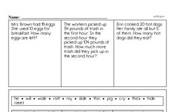 Free Second Grade Addition PDF Worksheets Worksheet #10