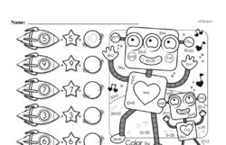 Free Second Grade Addition PDF Worksheets Worksheet #13