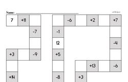 Free Second Grade Addition PDF Worksheets Worksheet #7