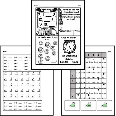 Addition Mixed Math PDF Book