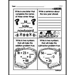 Second Grade Addition Worksheets Worksheet #176