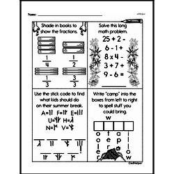Free Second Grade Addition PDF Worksheets Worksheet #178