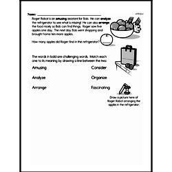 Free Second Grade Addition PDF Worksheets Worksheet #106