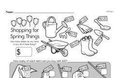 Free Second Grade Addition PDF Worksheets Worksheet #132