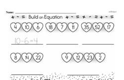 Free Second Grade Addition PDF Worksheets Worksheet #152