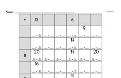 Free Second Grade Addition PDF Worksheets Worksheet #82