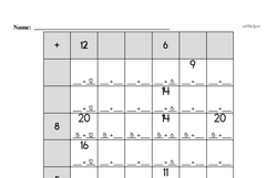 Addition Worksheets - Free Printable Math PDFs Worksheet #185