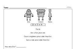 Free Second Grade Addition PDF Worksheets Worksheet #144