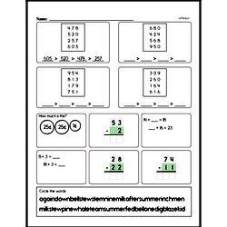 Free Second Grade Addition PDF Worksheets Worksheet #145