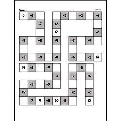 Free Second Grade Addition PDF Worksheets Worksheet #147