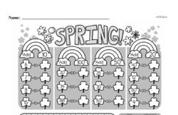 Free Second Grade Addition PDF Worksheets Worksheet #161