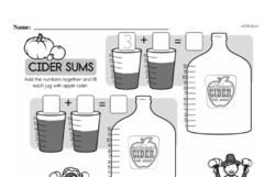 Free Second Grade Addition PDF Worksheets Worksheet #28