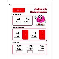 Addition Worksheets - Free Printable Math PDFs Worksheet #607