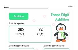 Addition Worksheets - Free Printable Math PDFs Worksheet #613