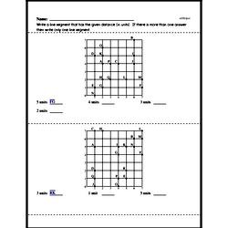 Free Second Grade Data PDF Worksheets Worksheet #37