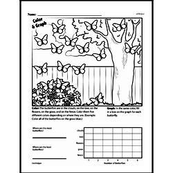 Second Grade Data Worksheets Worksheet #14