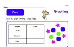 Second Grade Data Worksheets Worksheet #6