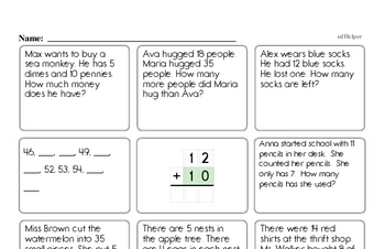 Enrichment Word Problems Challenge Book