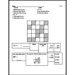 Mental Math and Figure out the Crossword