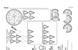 Fraction Worksheets - Free Printable Math PDFs Worksheet #74