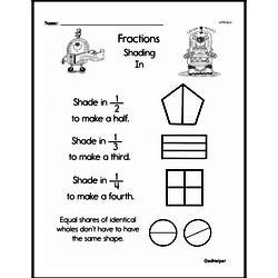 Fraction Worksheets - Free Printable Math PDFs Worksheet #103
