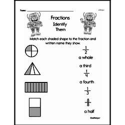 Fraction Worksheets - Free Printable Math PDFs Worksheet #118