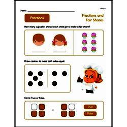 Fraction Worksheets - Free Printable Math PDFs Worksheet #238