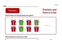 Fraction Worksheets - Free Printable Math PDFs Worksheet #93