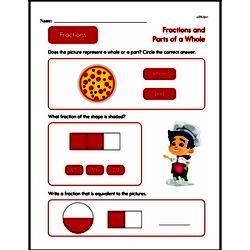 Fraction Worksheets - Free Printable Math PDFs Worksheet #26