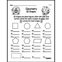 Geometry Worksheets - Free Printable Math PDFs Worksheet #257