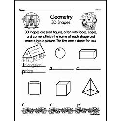 Geometry Worksheets - Free Printable Math PDFs Worksheet #116