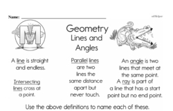 Geometry Worksheets - Free Printable Math PDFs Worksheet #18