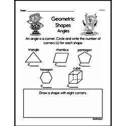 Geometry Worksheets - Free Printable Math PDFs Worksheet #173
