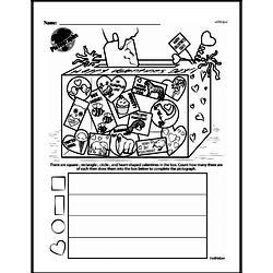 Free Second Grade Geometry PDF Worksheets Worksheet #19