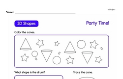Geometry Worksheets - Free Printable Math PDFs Worksheet #66