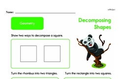 Geometry Worksheets - Free Printable Math PDFs Worksheet #319