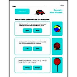 Geometry Worksheets - Free Printable Math PDFs Worksheet #192