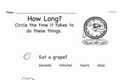 Free Second Grade Math Challenges PDF Worksheets Worksheet #39