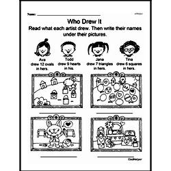 Free Second Grade Math Challenges PDF Worksheets Worksheet #74