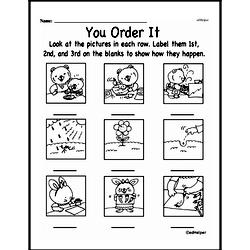 Free Second Grade Math Challenges PDF Worksheets Worksheet #176
