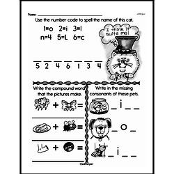 Free Second Grade Math Challenges PDF Worksheets Worksheet #109