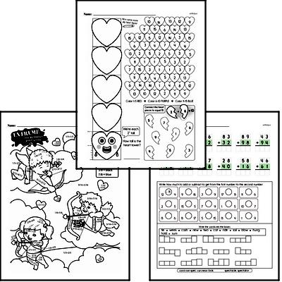 Math Challenges - Puzzles and Brain Teasers Mixed Math PDF Workbook for Second Graders