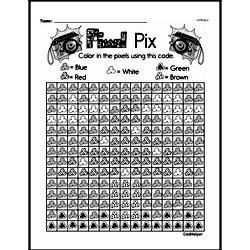 Free Second Grade Math Challenges PDF Worksheets Worksheet #193