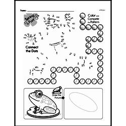 Free Second Grade Math Challenges PDF Worksheets Worksheet #124