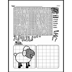 Free Second Grade Math Challenges PDF Worksheets Worksheet #178