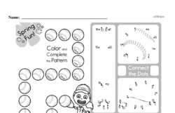 Free Second Grade Math Challenges PDF Worksheets Worksheet #121